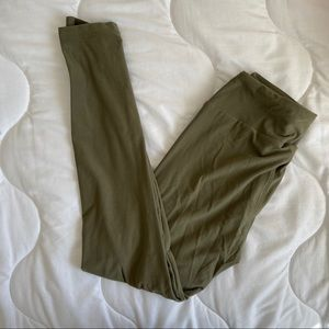 LuLaRoe Olive Leggings